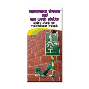 Picture of Emergency Shower / Eye Wash Safety Check Logbook